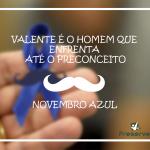 Novembro azul, prevenção, saúde, medicina, homem